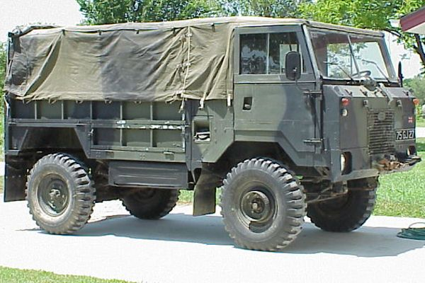 Khaki Corps Imports - Land Rover Forward Control 101 1 Tonne Truck