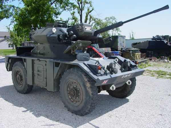 Fox Armored Scout Car For Sale