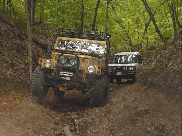 Khaki Corps Imports Land Rover Lightweight Autos Post