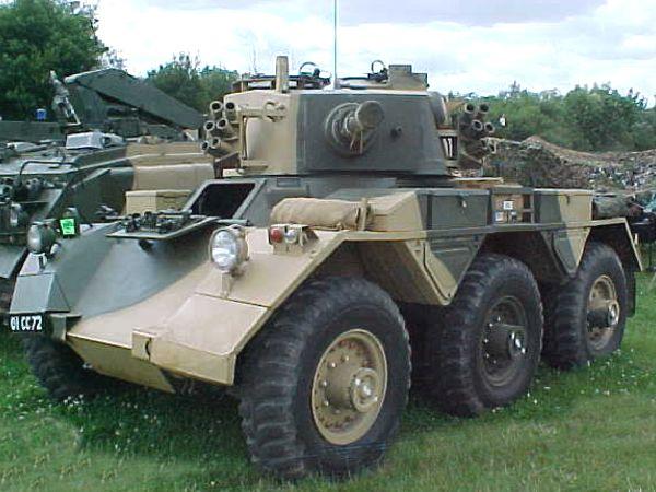 Khaki Corps Imports - British Saladin 6X6 Armoured Car
